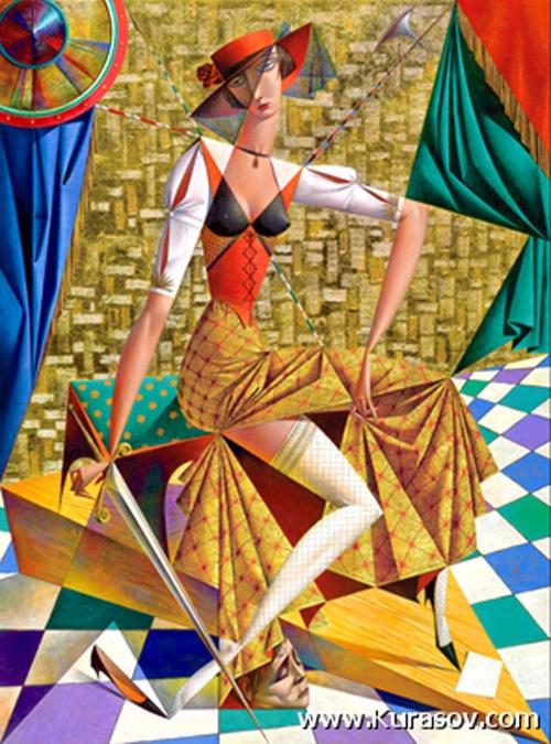 Георгий Курасов. Геометрическая живопись (23 работ)