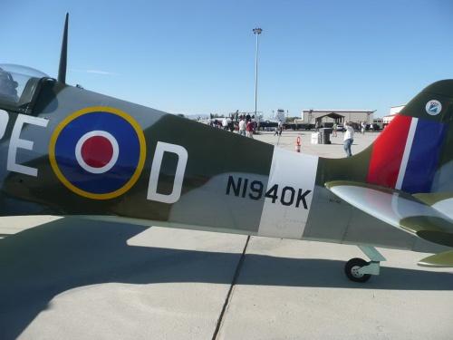 Английский истребитель Spitfire MK IX (78 фото)