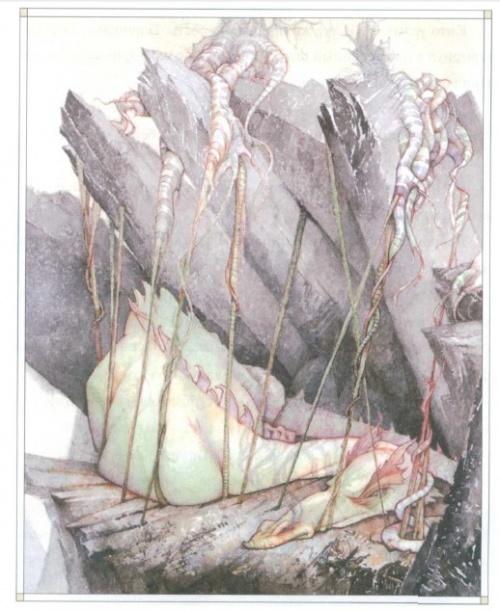 Иллюстраторы - наши современники - Дэвид Кристиана (51 работ)