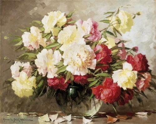 Натюрморты венгерского художника Adrienne Henczne Deak (1890-1956) (29 работ)