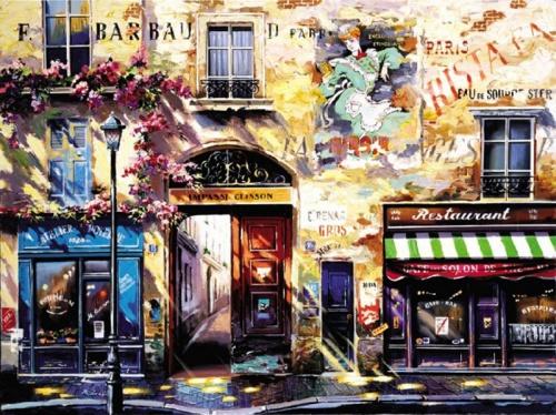 Красочная живопись Рубена Боре (14 работ)
