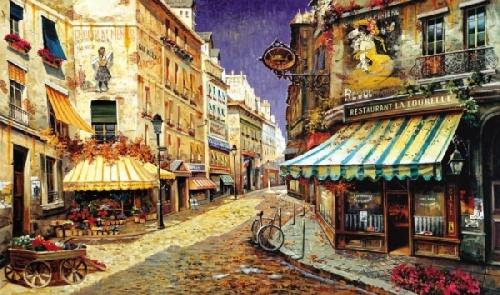 Красочная живопись Рубена Боре (14 фото)