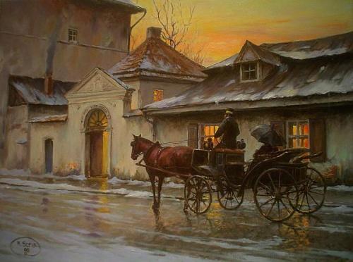 Польский художник Miroslaw Szeib (47 работ)