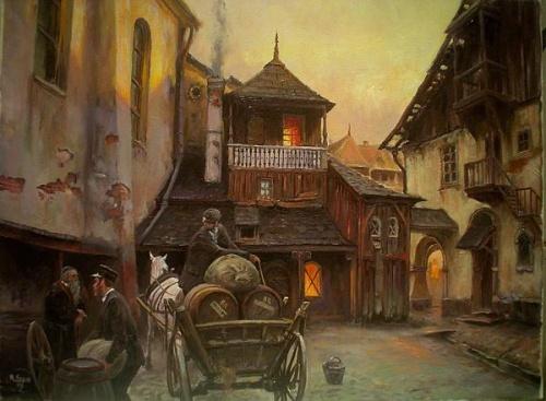 Польский художник Miroslaw Szeib (47 фото)