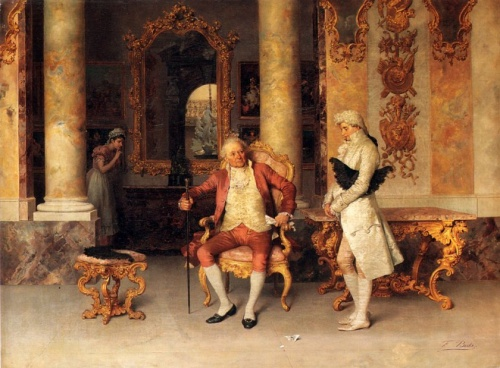 Итальянский художник Francesco Beda (1840-1900) (16 работ)