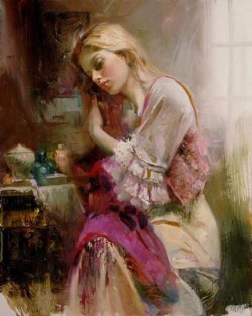 Картины итальянского художника Pino Daeni (28 фото)
