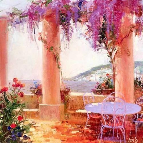 Картины итальянского художника Pino Daeni (28 работ)