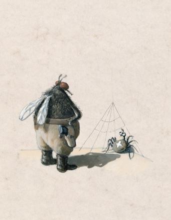 Художник, иллюстратор Михаэль Сова. Причудливое творчество (51 фото)