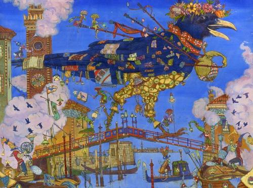 Работы художника - иллюстратора Петра Фролова (11 работ)
