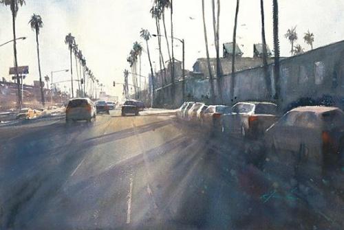Американские акварели японской художницы Keiko Tanabe (20 работ)
