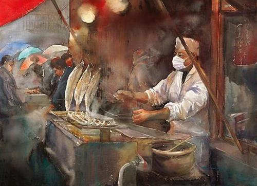 Американские акварели японской художницы Keiko Tanabe (20 фото)