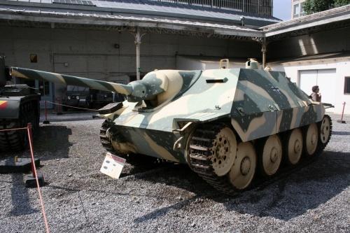 Немецкая САУ Hetzer G13-D (21 фото)