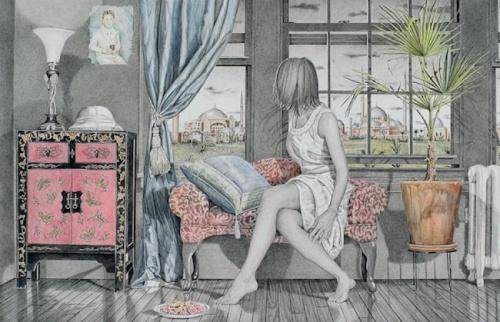 Работы американского художника Kay Ruane (69 работ)