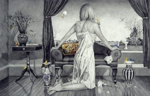 Работы американского художника Kay Ruane (69 фото)