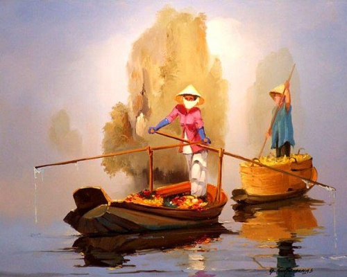 Работы французского художника George Corominas (50 фото)