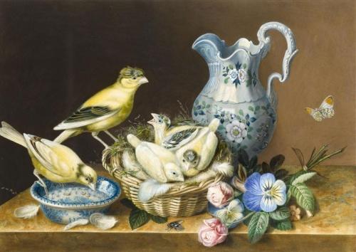 Художник и иллюстратор Augusta Innes Withers (1792-1877) (72 работ)