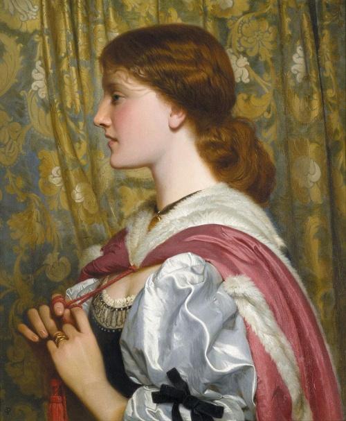 Английский художник Charles Edward Perugini (1839 - 1918)
