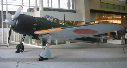 Японский палубный истребитель A6M5 Zero (38 фото)