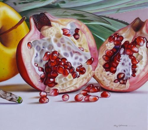 Фотореалистичные картины от венесуэльской художницы Эллери Гутьеррес (43 работ)