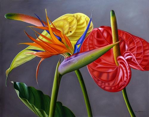Фотореалистичные картины от венесуэльской художницы Эллери Гутьеррес (43 фото)