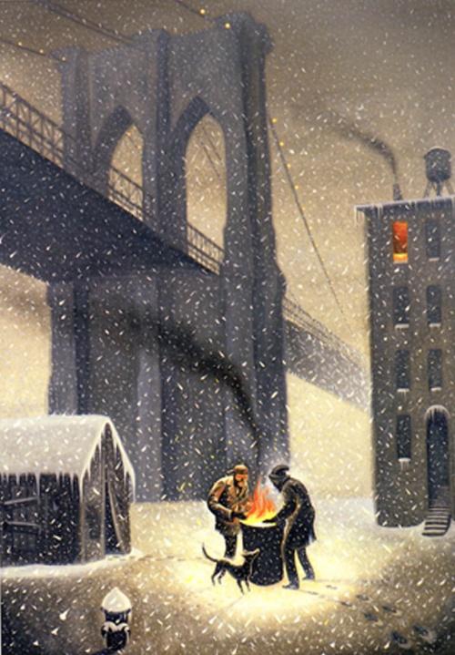 Американский художник Eric Drooker (Эрик Друкер) (153 фото)