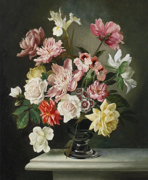 Натюрморты Gerald Cooper (1898-1975) (49 работ)