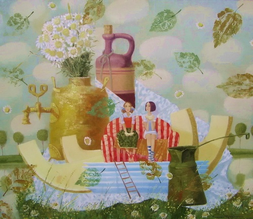 Работы молодой художницы Екатерины Чекалиной (39 работ)