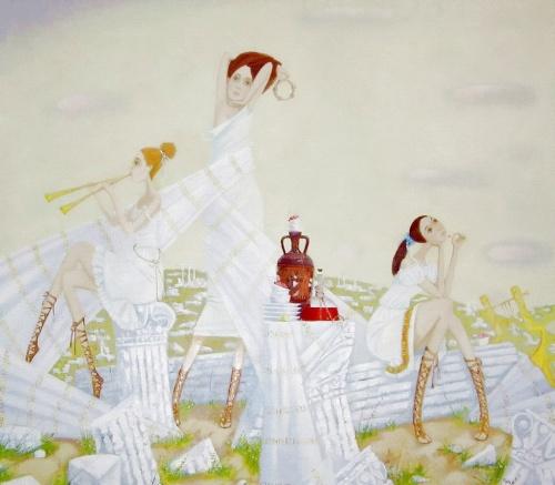 Работы молодой художницы Екатерины Чекалиной (39 фото)