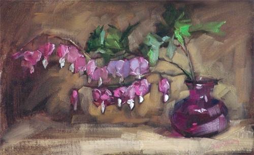 Barbara Schilling. Цветочные натюрморты (27 фото)
