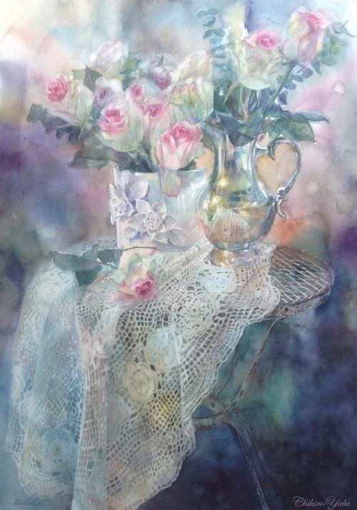 Из бесконечного мира красок... Художник Chihiro Yabe (19 работ)
