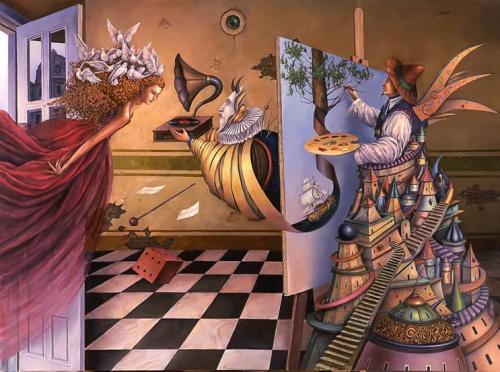 Польский художник Tomasz Setowski. Музей воображения (15 фото)