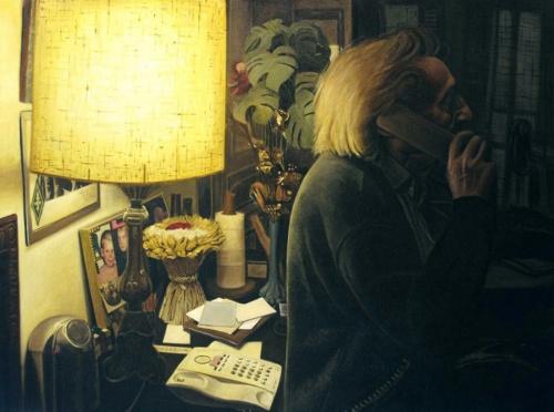 Одиночество. Художник Thomas Levy-Lasne (21 фото)
