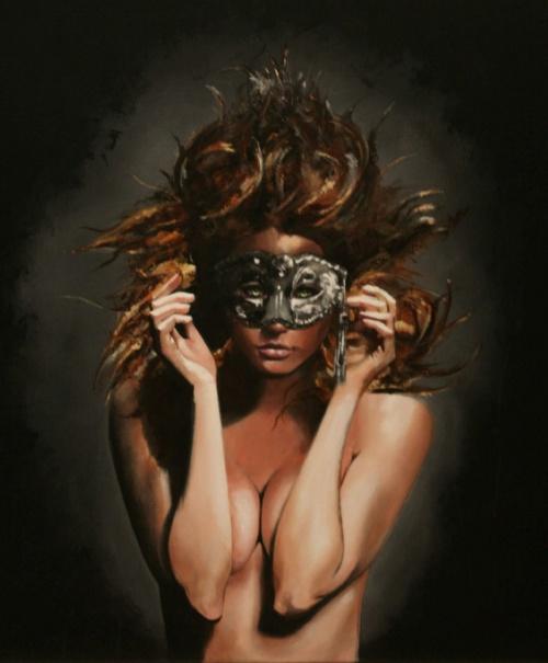 Черно-белые картины. Художница Nicole Roumelioti (21 работ)