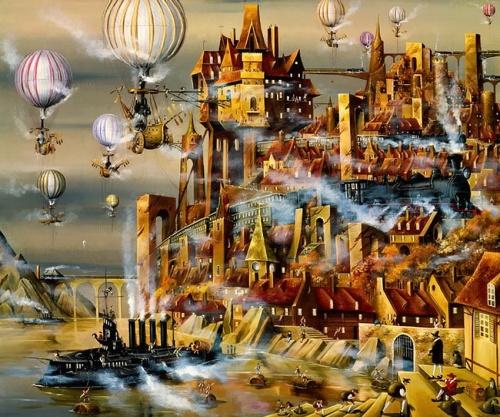 Работы художника Николая Зайцева (31 фото)