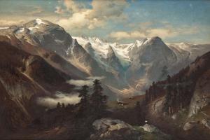 Работы художника Астудина Николая Львовича (Astudin Nikolai von, 1847 – 1925) (36 работ)