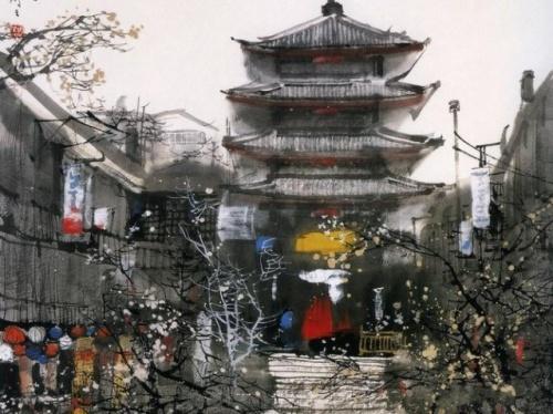 Пейзажи художника Liu Maoshan (27 фото)