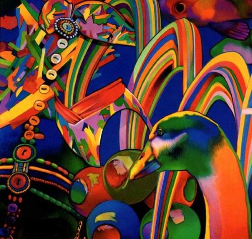 Светящиеся картины Gary Pruner (21 фото)