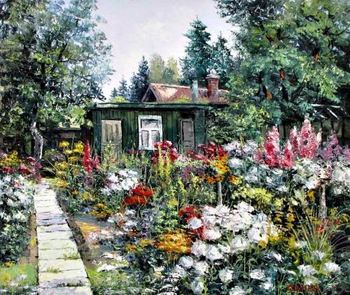 Работы художника Евгения синева (29 фото)