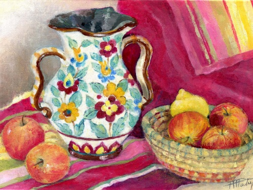 Акварельные работы Anne Marie Patry-Belluteau (81 работ)