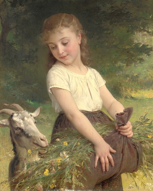 Работы французского художника Эмиля Муниер (1840-1895) (47 работ)