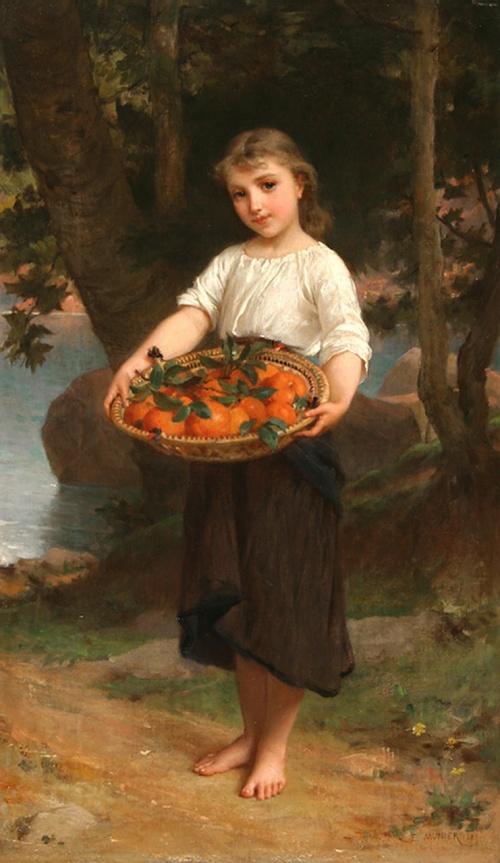 Работы французского художника Эмиля Муниер (1840-1895) (47 фото)