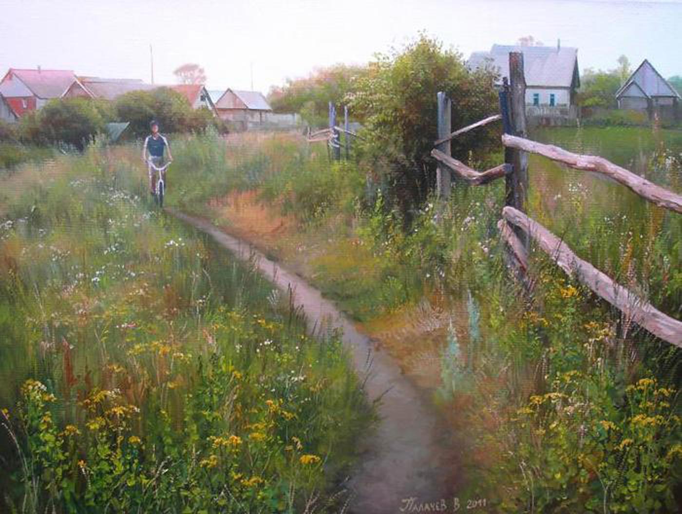 Пейзажи российской глубинки палачева