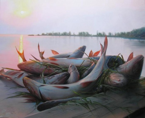 Пейзажи российской глубинки Палачева Вячеслава Николаевича (48 работ)