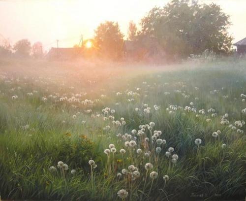 Пейзажи российской глубинки Палачева Вячеслава Николаевича (48 фото)