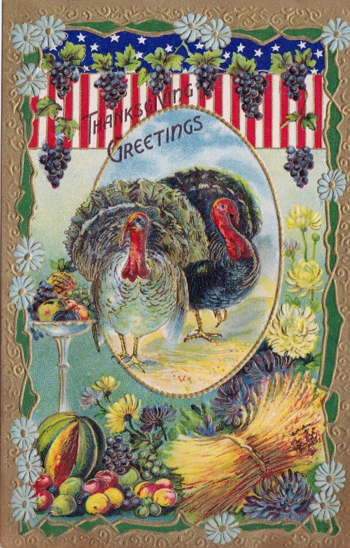 Коллекция открыток ко Дню Благодарения (194 открыток)