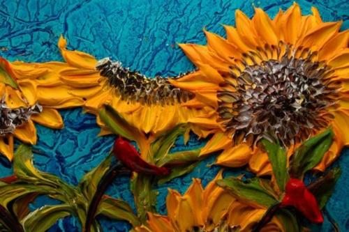 Объёмная живопись Джастина Геффри (14 фото)