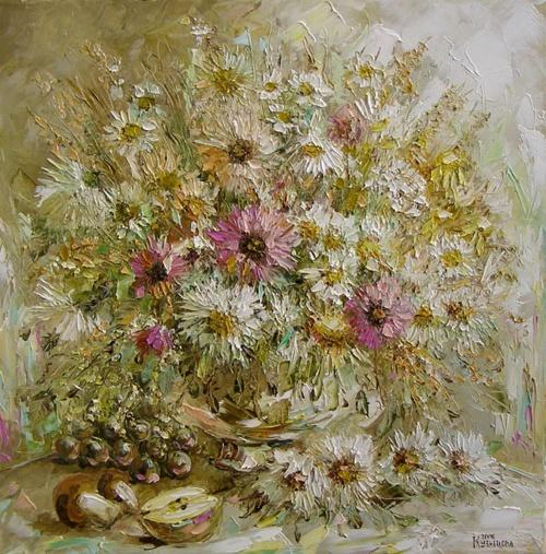 Работы художницы Юлии Кузнецовой (Цветы) (29 фото)