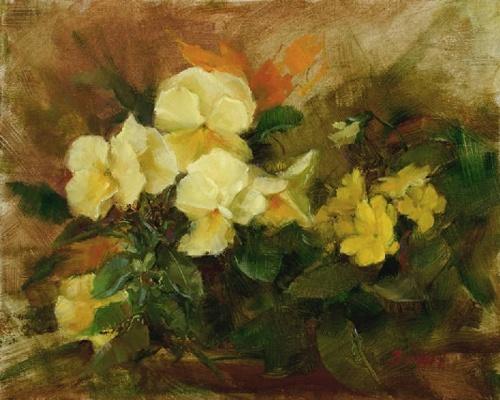 Цветочные картины. Художница Stephanie Birdsall (21 фото)