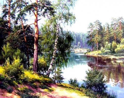 Работы Игоря Прищепа - русского пейзажиста из Казани (12 фото)