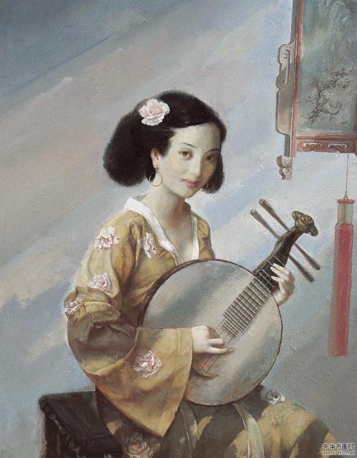 Работы китайского художника Zhang Renyuan (12 работ)